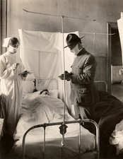 Spanish Flu ward, USA