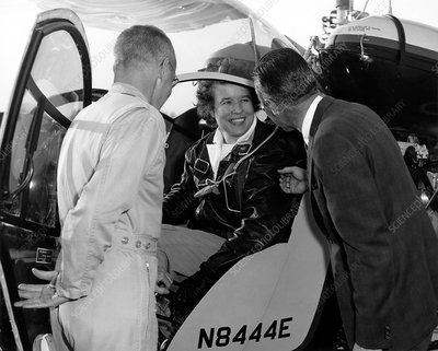 Jean Dougherty Strother, American test pilot