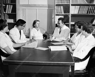 US Public Health Service polio research meeting, 1953