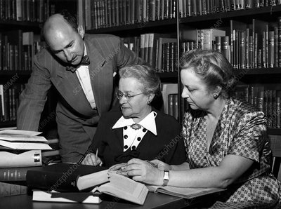 Kinsey Institute researchers, 1953