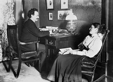 Franz Boas, German-US anthropologist, and his wife Marie