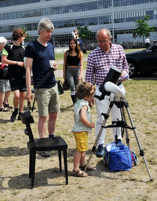 Summer solstice solar science outreach