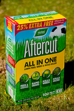 Lawn feed and treatment product