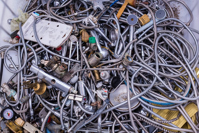 Metal products for recycling