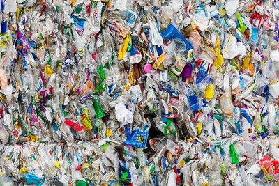 Sorting site for recycled material