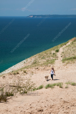 Sleeping Bear Dunes, Michigan, USA