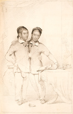 Chang and Eng conjoined twins, 1830