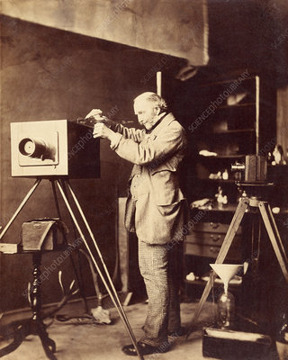 British photographer Horatio Ross with camera