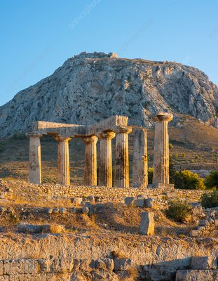 Temple of Apollo, Ancient Corinth