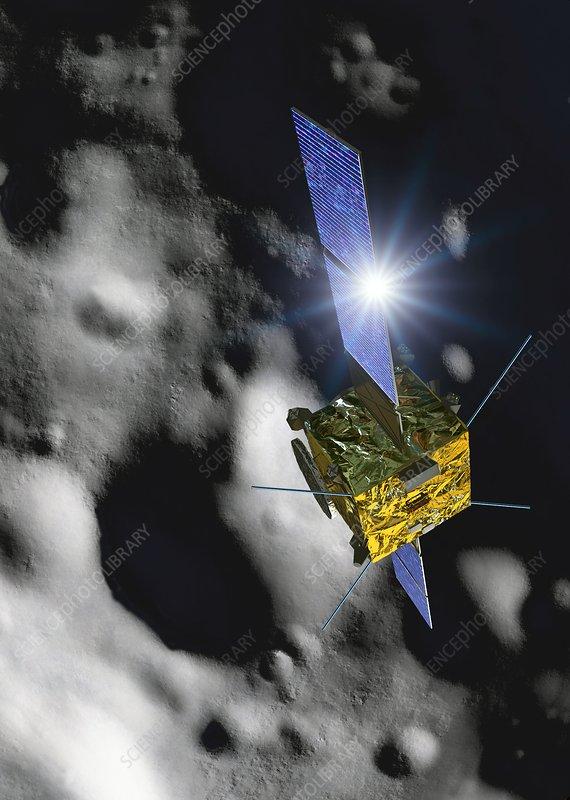 Asteroid Impact Mission, illustration