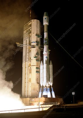 Final Ariane 4 launch, 2003