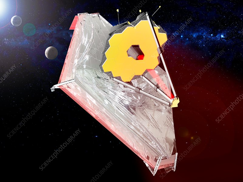 James Webb Space Telescope, illustration