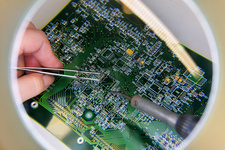 Circuit board production