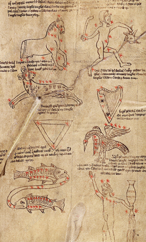 Medieval constellations, 13th century