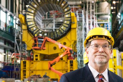 George Smoot at CERN, February 2007