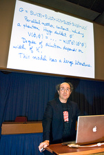 Frank Wilczek lecture at CERN, May 2007
