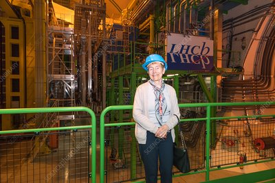 Helene Langevin-Joliot at CERN, July 2017