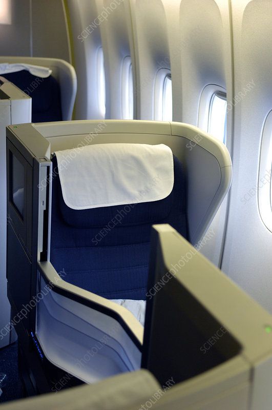Aircraft business class cabin