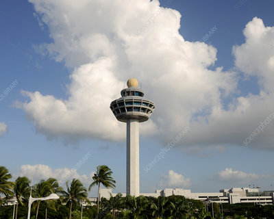 Air traffic control tower, Singapore Changi Airport