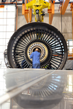 Aeroplane engine maintenance