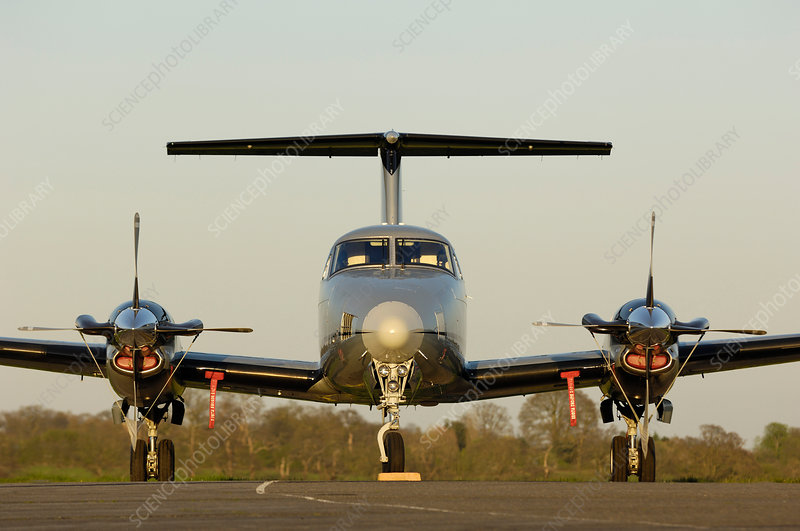 Beechcraft King Air B200 turboprop aircraft