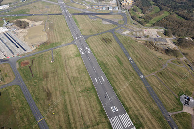 Runway, Farnborough Airport, UK