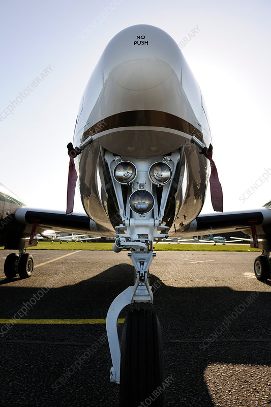 Nose wheel undercarriage lights