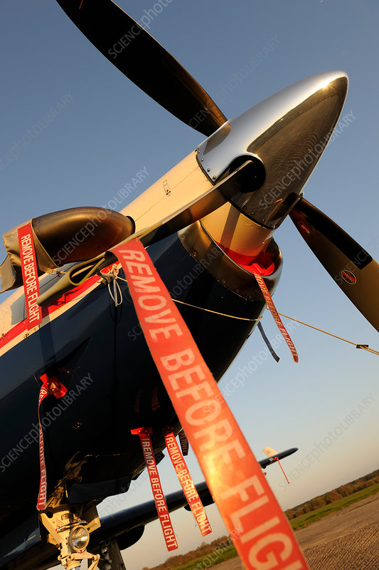 Remove before flight safety ribbon
