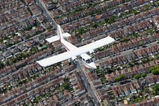 Light aircraft, Portsmouth, UK