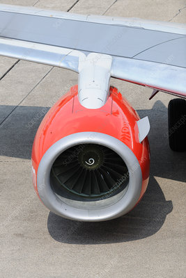 Airbus A319-110 engine-intake
