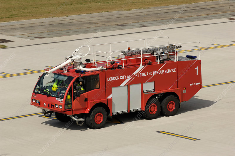 Airport Fire and Rescue Service fire-engine