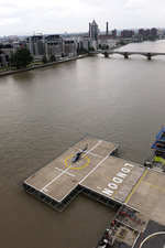 Battersea Heliport, London, UK