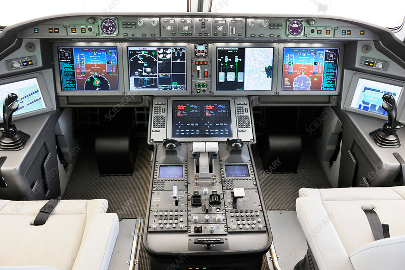 UAC MS-21 aircraft cockpit mock-up