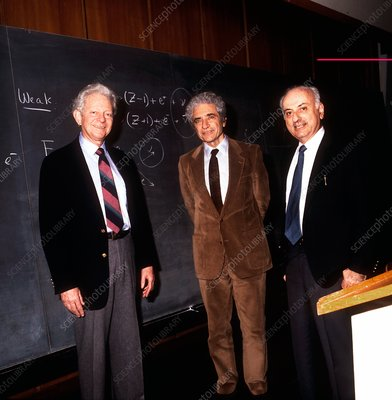 Laureates for 1988 Nobel Prize in Physics