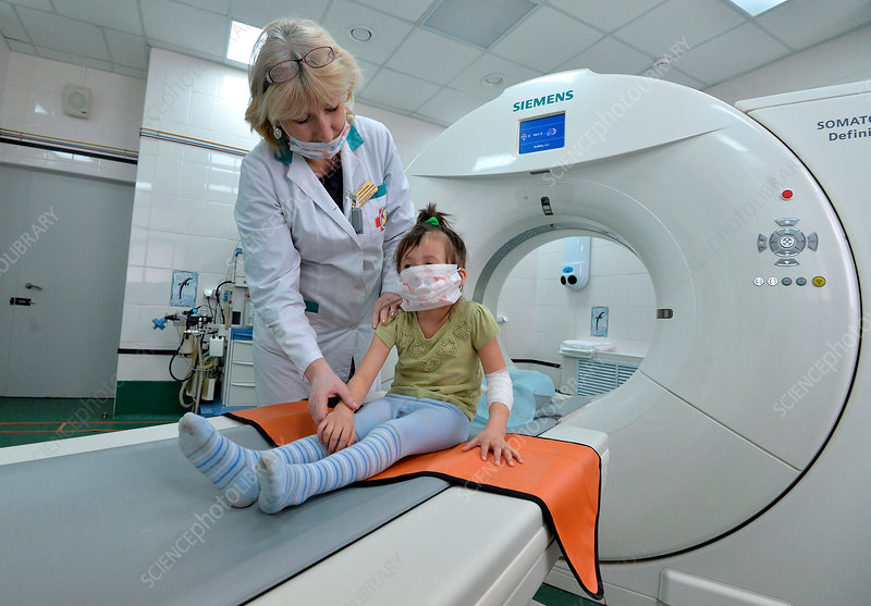 Paediatric CT scanning