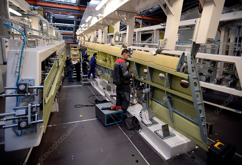 Aircraft composite materials factory