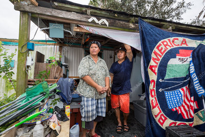 Effects of Hurricane Harvey on Cambodian community, USA