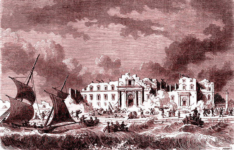 1783 Messina earthquake, Sicily, 19th C illustration