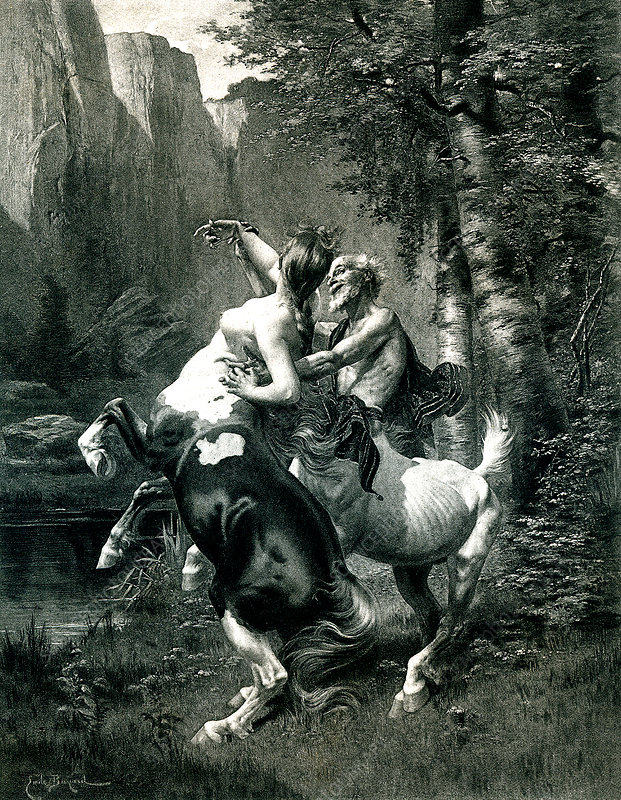 Centaurs, 19th Century illustration