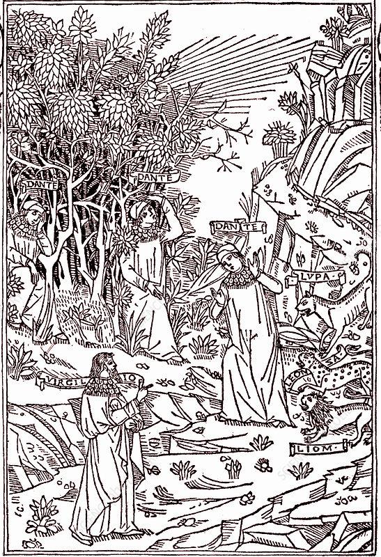 Dante's Inferno, 19th Century illustration
