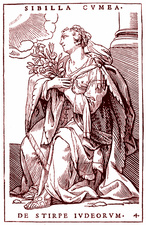 Oracle of Delphi, 19th Century illustration