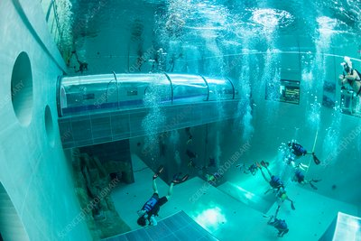 Y-40 Deep Joy diving pool, Italy