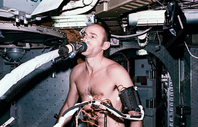 Metabolic activity experiment on Skylab, 1973