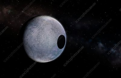 Artwork of Dwarf Planet Eris