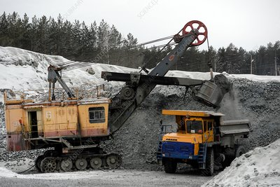 Copper mining, Russia