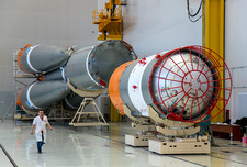 Soyuz-2 rocket construction