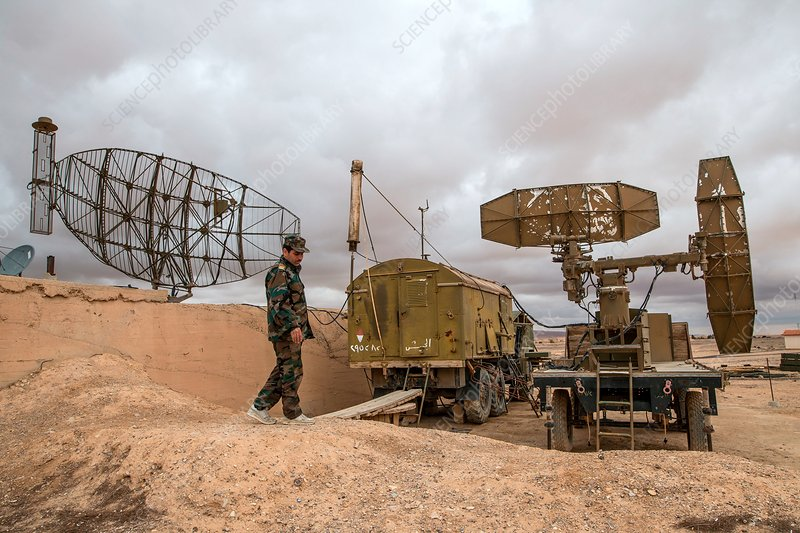 Syrian Air Force base Stock Image C0380864 Science