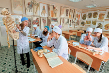 Medical students, Russia