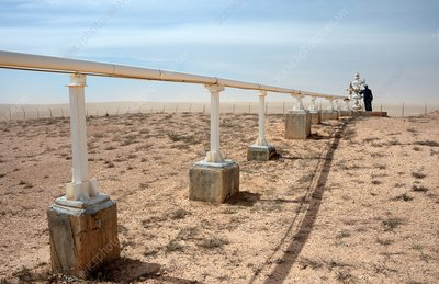 Gas pipeline, Syria