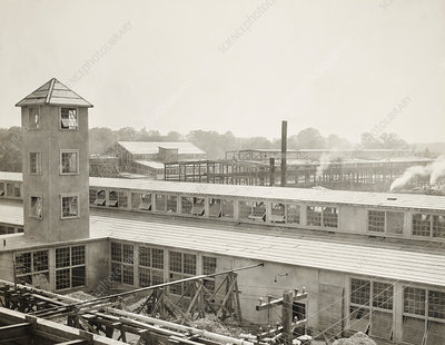 Chlorine gas factory, Edgewood Arsenal, First World War